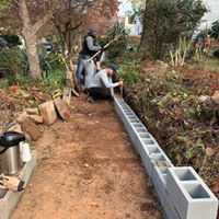 Retaining Wall for Ms. Alice