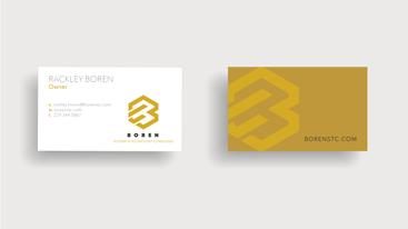 Graphic Design - Brand Identity - Boren STC