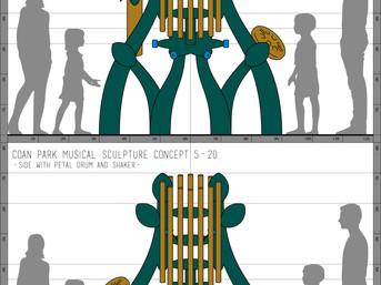 Coan Park Musical Sculpture Concept 5-20