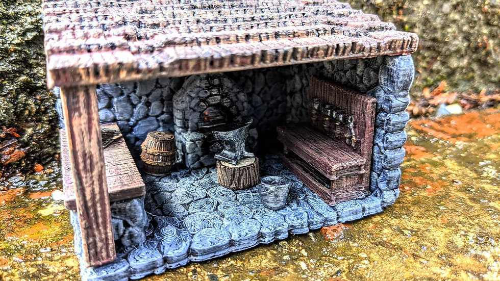 Blacksmith Set (pre-painted)