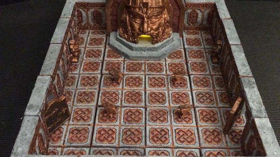 Mountain King Forge Hall Tile Set