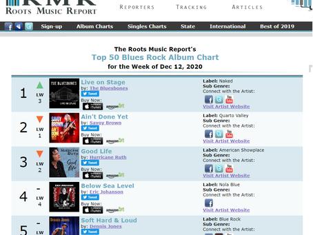 Nr.1 Blues/Rock Charts Top 50 USA