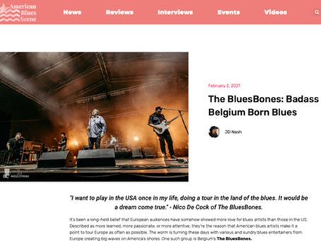 Interview on American Blues Scene