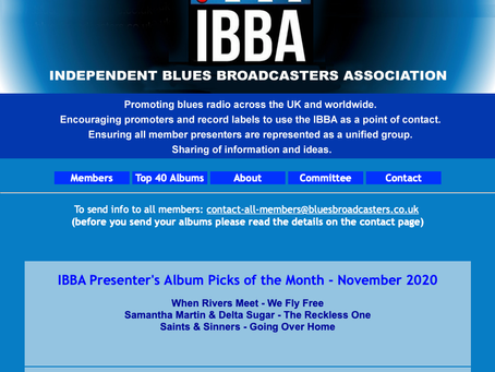 Live on Stage Pick of the month IBBA UK