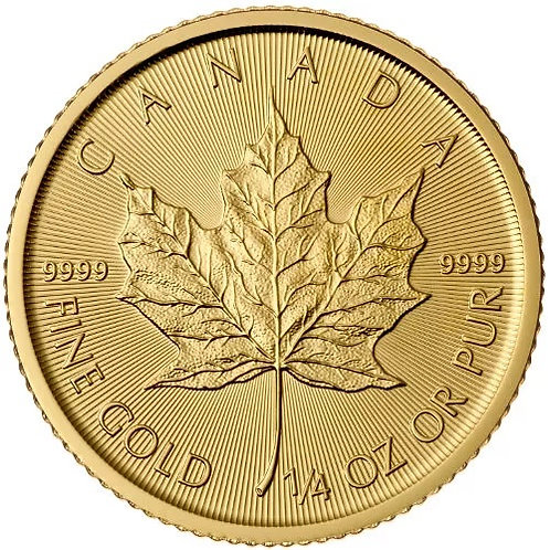 Canadian Gold Maple Leaf 1/4
