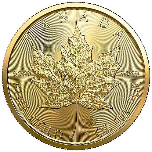 Canadian Gold Maple Leaf 1.0