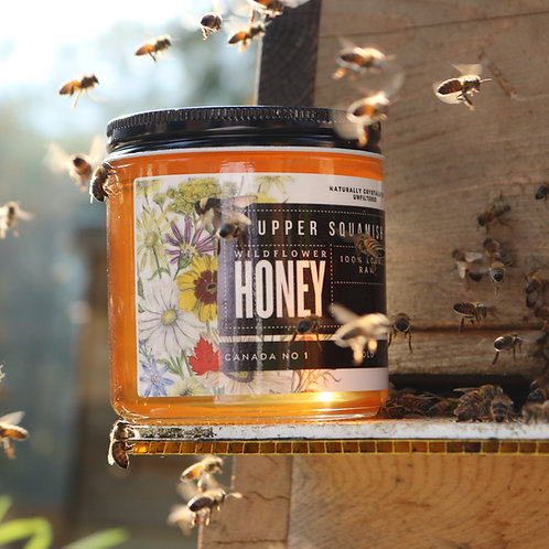 Wildflower Honey 2020 - 100% Local Upper Squamish Valley Honey