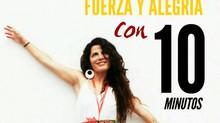 10 minutos con Ana Carrera. Activa tu Fuerza y tu Alegría