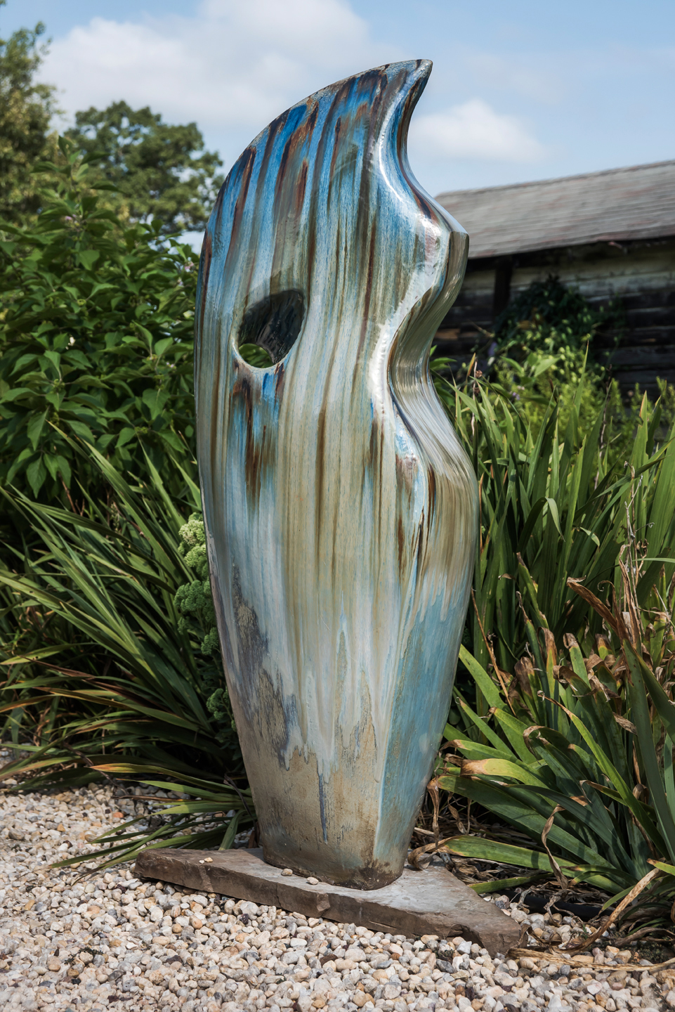 Blue Sculpture 1