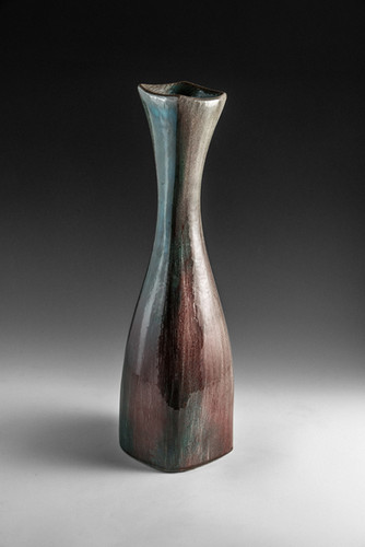 Four-Sided Vase