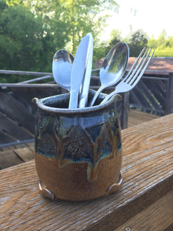 Silverware Drying Container
