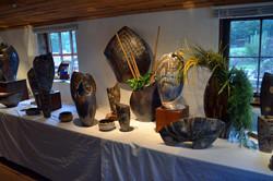 Slab Vases and Sculptures