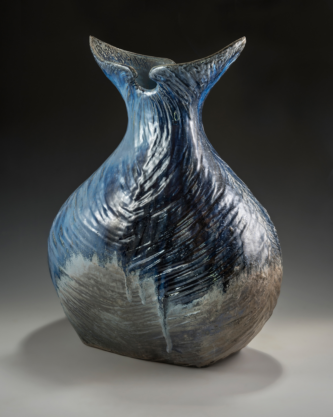 "The ""Whale Tail"" Vase - Side 2"