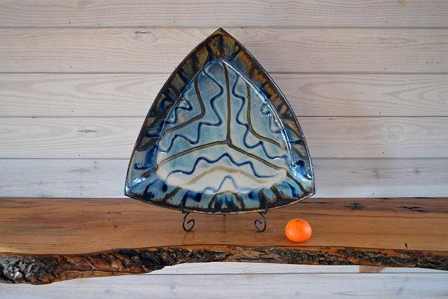 Large Triangle Dish 1
