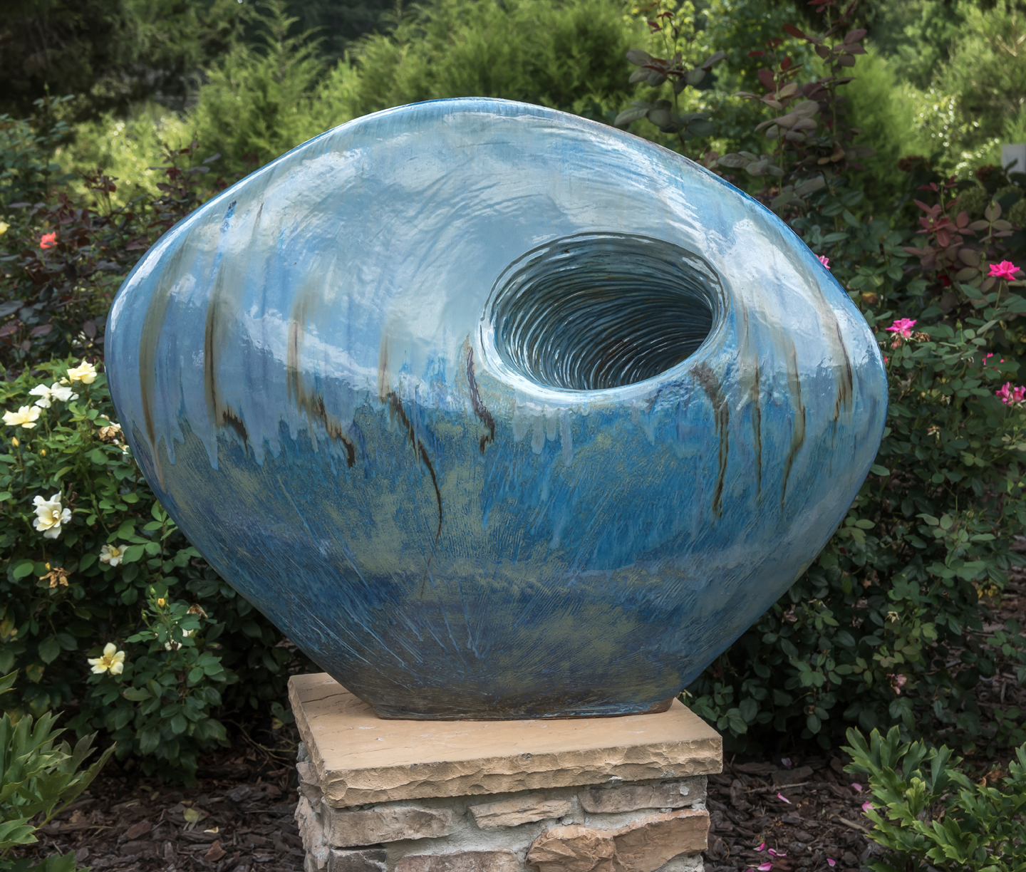 Blue Sculpture 2