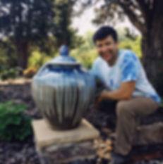 "Joseph Sand with ""bitty"" big pot.JPG"