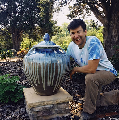 "Joseph Sand with ""bitty"" big pot.JPG"