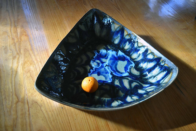 Large Triangle Dish 6