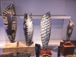 Side Fired Sculptures