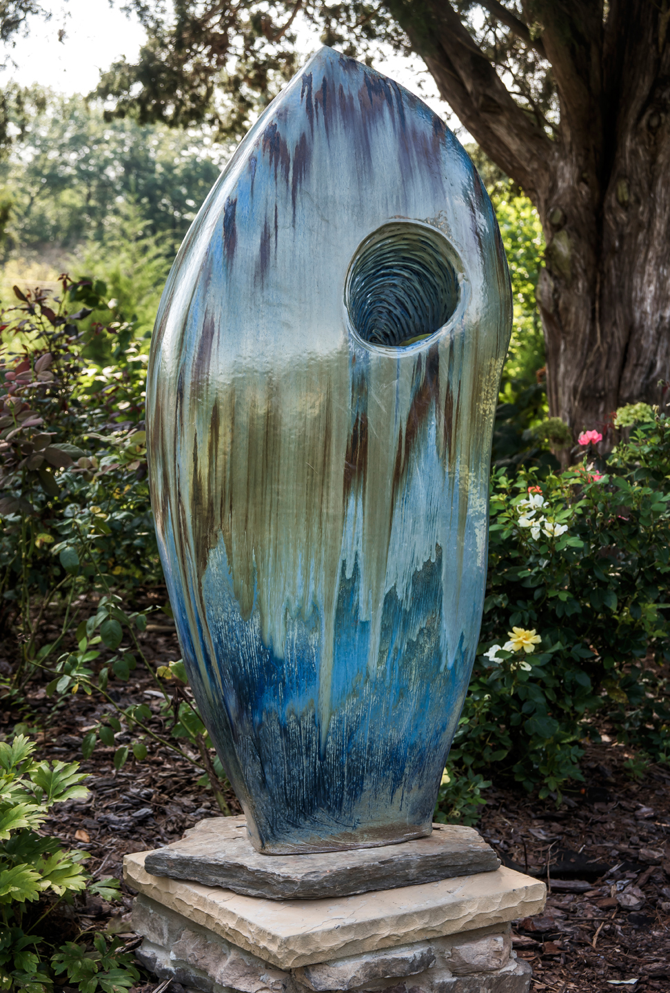 Blue Sculpture 5