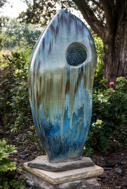 Blue Sculpture 5