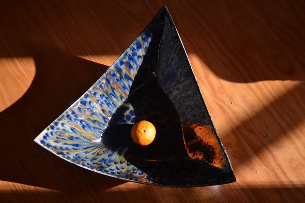 Large Triangle Dish 4
