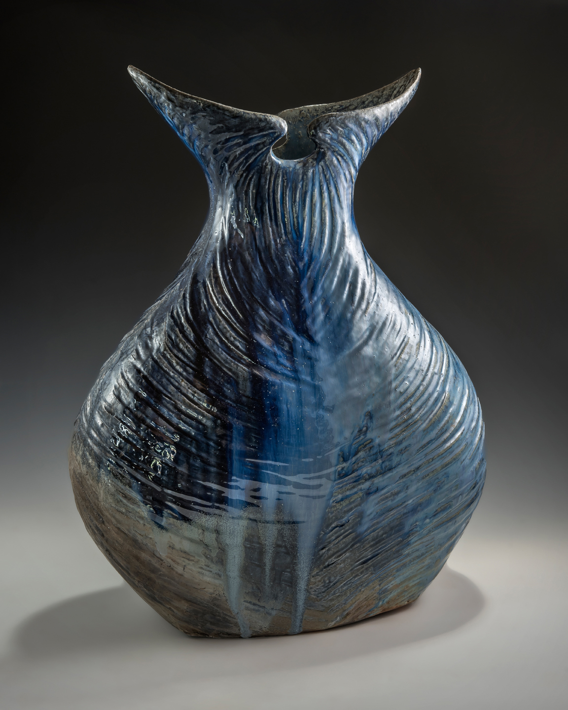 "The ""Whale Tail"" Vase - Side 1"