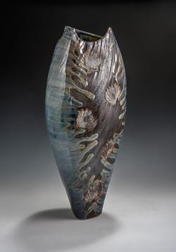 Side Fired Vase - Side 1