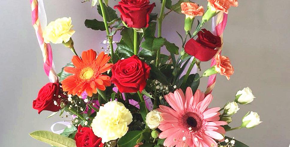 flower basket - great day