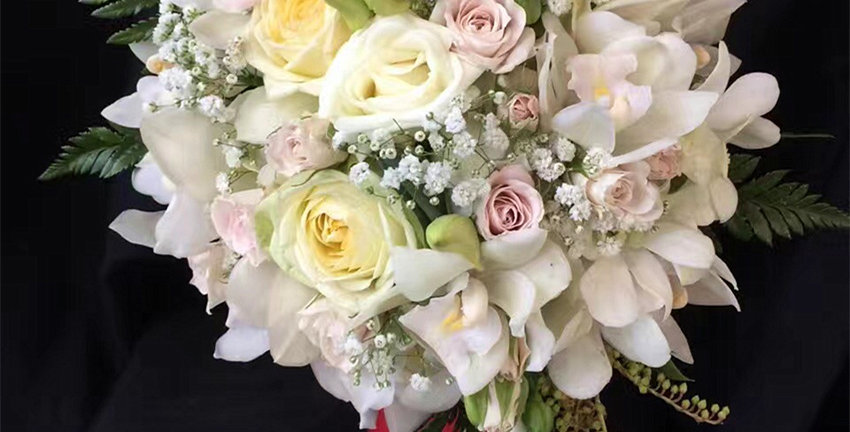 bridal bouquet - sweet heart