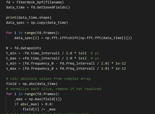 A tiny python script, update on fiberdesk 5 & 6 and tutorial