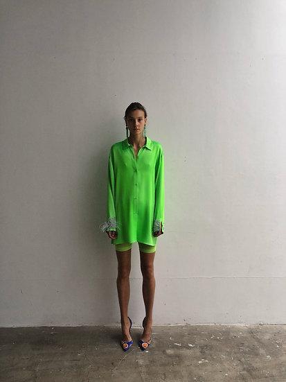 PHOENIX SHIRT DRESS