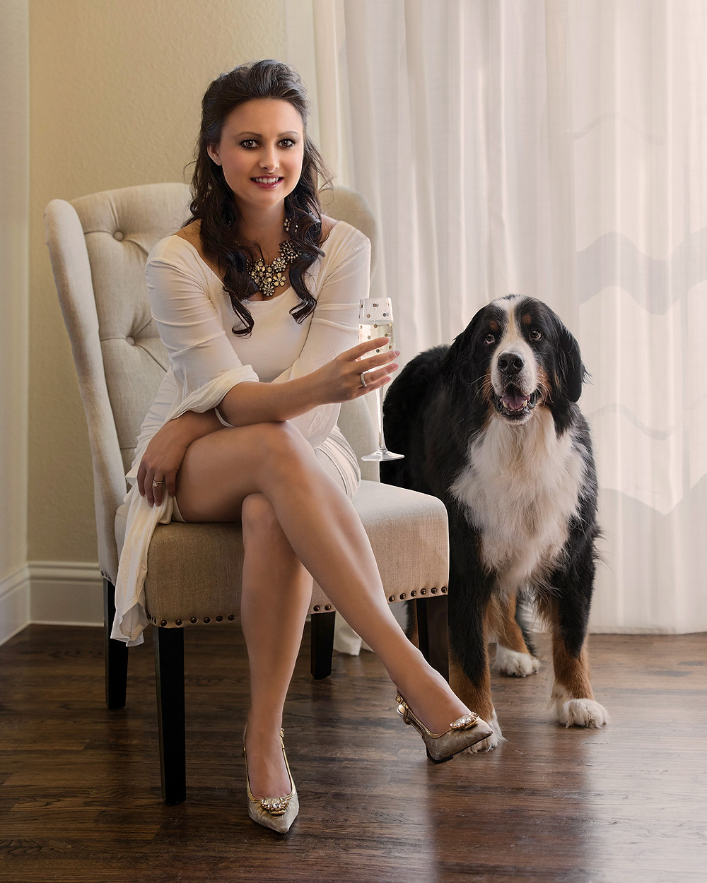Dallas pet photographer Robyn Pope | Haute Dog: Couture Pet Photography