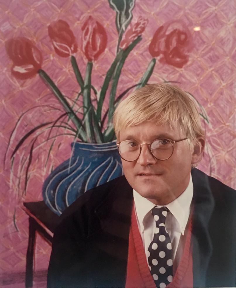 Tulips (David Hockney in his Studio),1985