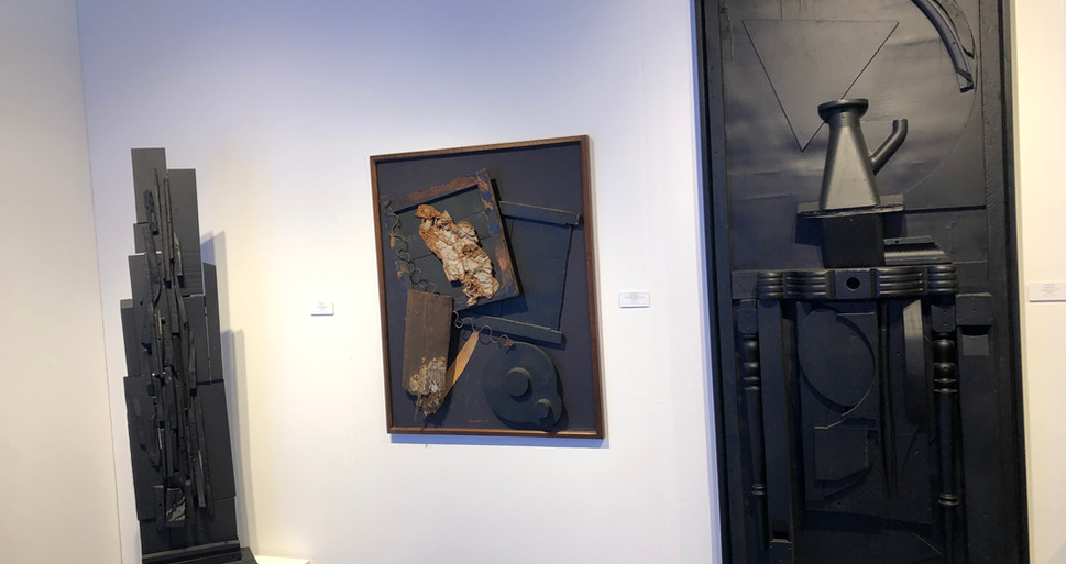 Louise Nevelson In Situ Fair Installation