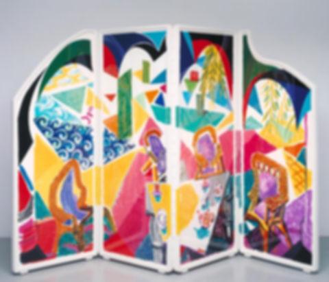 David Hockney,Caribbean Tea Time, 1987.j