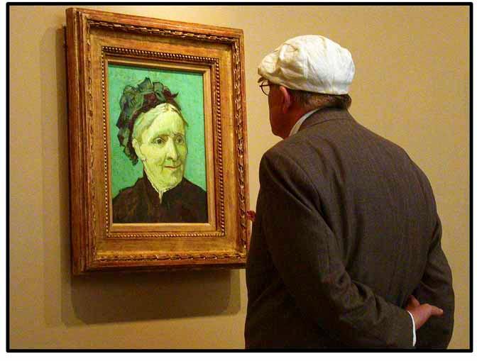 David Hockney at Norton Simone,