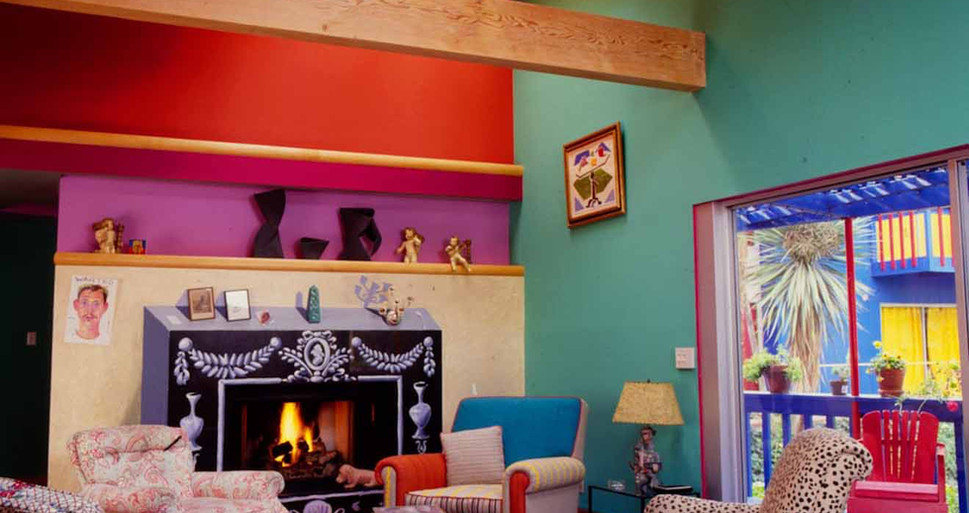 David Hockney Living Room in Los Angeles