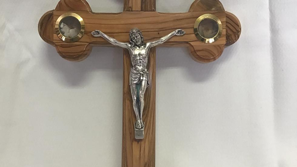 28cm Olive Wood Cross