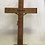 Thumbnail: Standing 53cm Olive Wood Cross