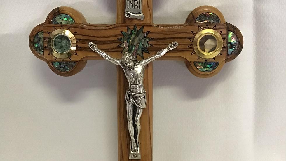 22cm Olive Wood Cross