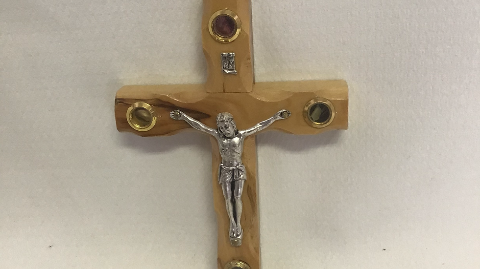 12cm Olive Wood Cross