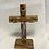 Thumbnail: Standing 16cm Olive Wood Cross