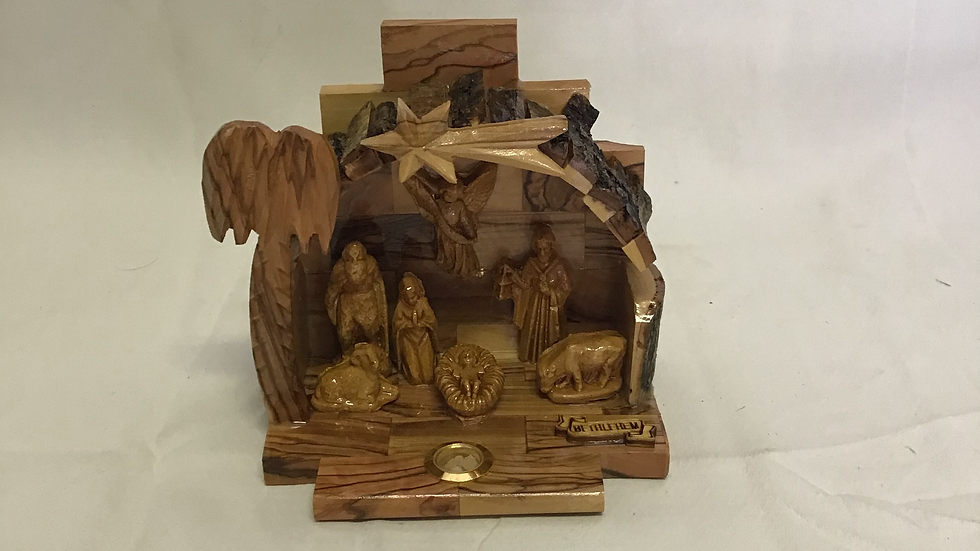 4.5in Nativity Set