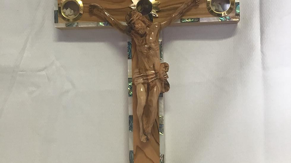 35cm Olive Wood Cross