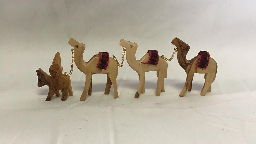 Set of Large Camels