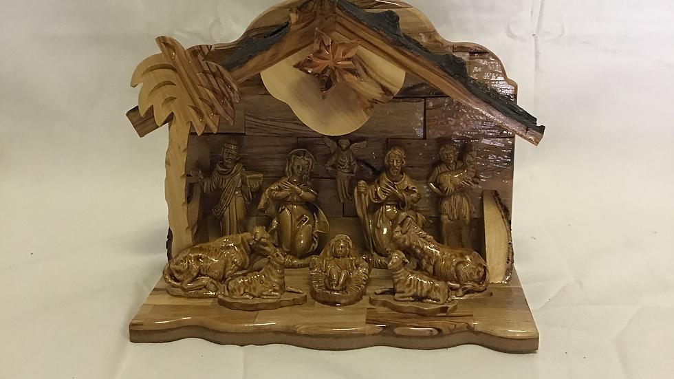 9.5in Nativity Set