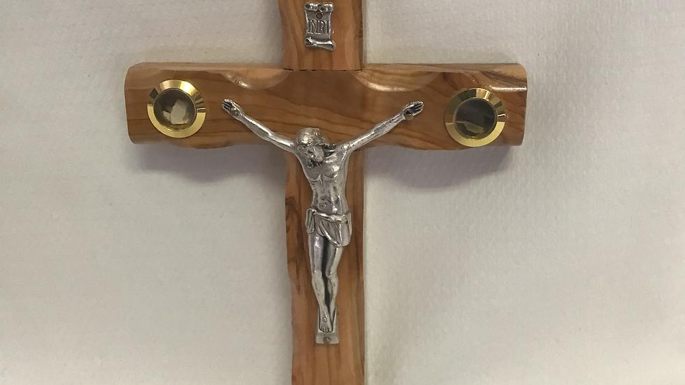 16cm Olive Wood Cross