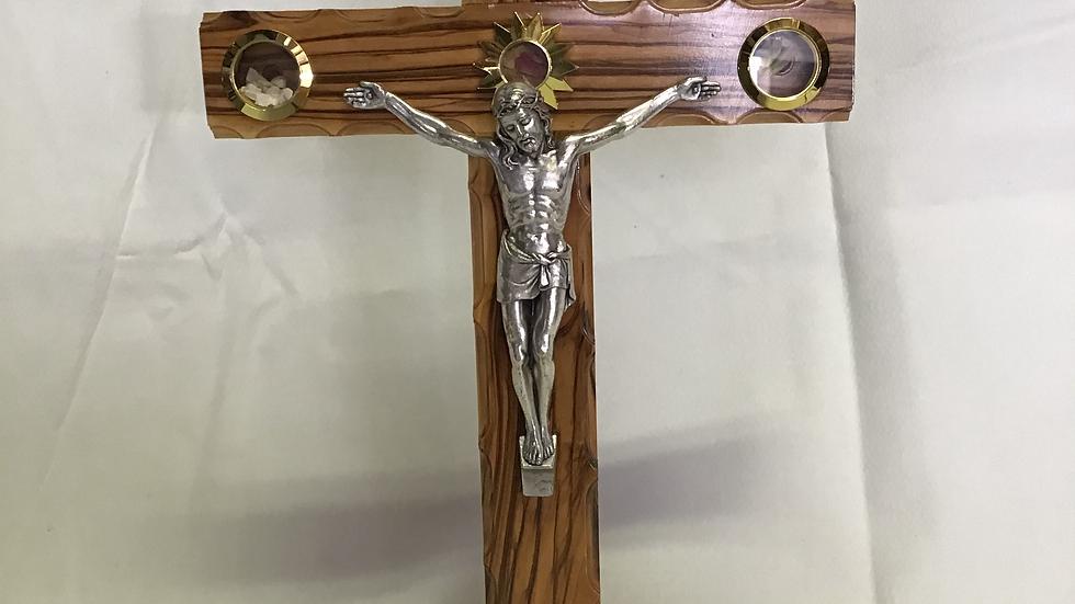 Standing 30cm Olive Wood Cross
