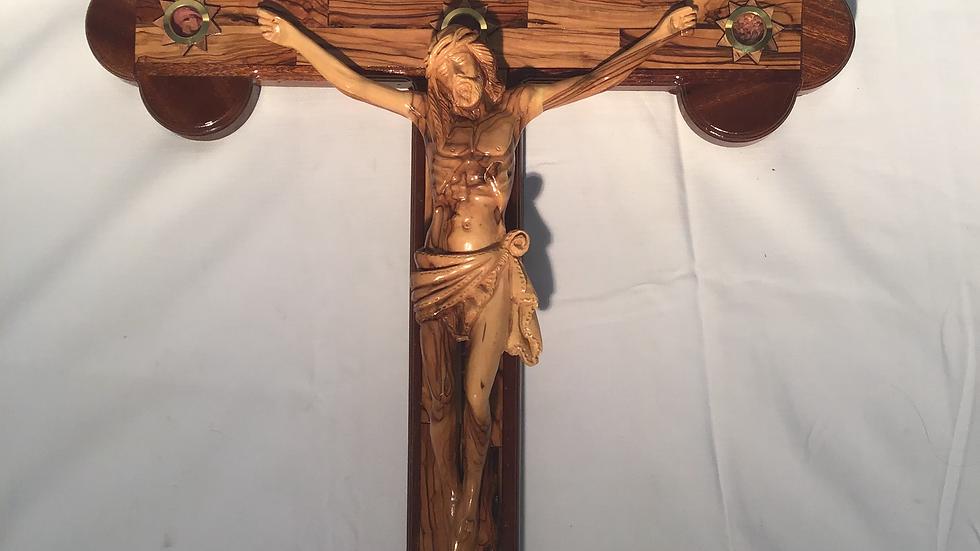 82cm Olive Wood Cross